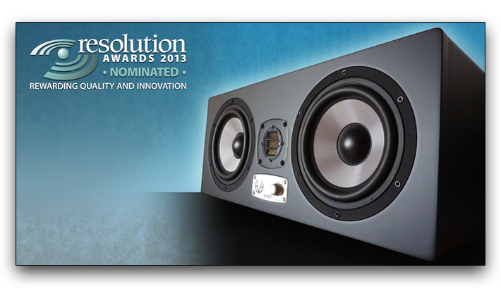 EVE Audio – SC307 nominated for Resolution Award