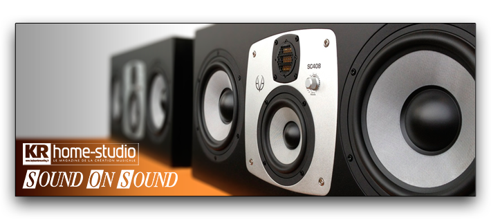 EVE Audio SC408 - Sound On Sound & KR Home-Studio