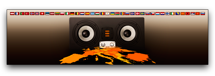 Eve Audio EVErywhere in Europe