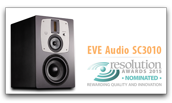 EVE Audio SC3010 - Resolution Awards Nomination
