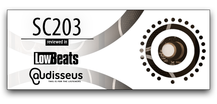 SC203 reviewed in LowBeats and audisseus