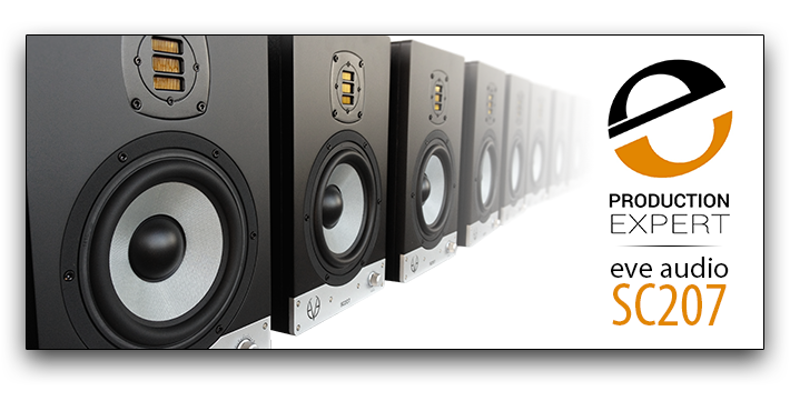 EVE Audio SC207 in Production Expert