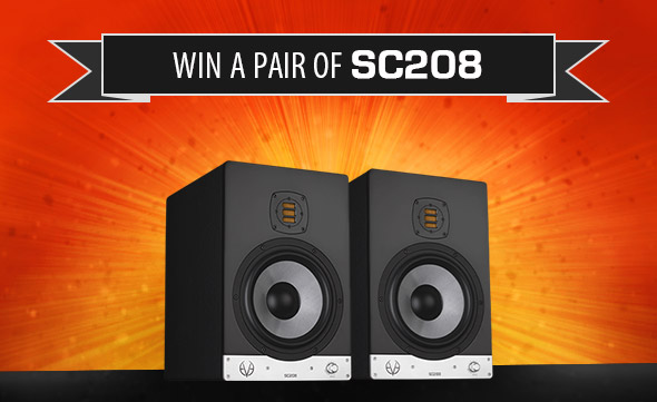 10 years EVE Audio - Win a pair of SC208