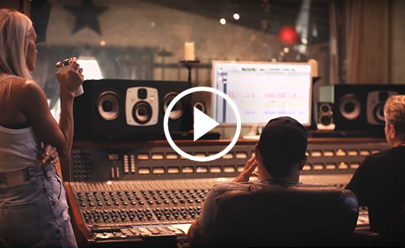 EVE Audio in Carrie Underwood's and Jason Aldean's video